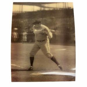 Vintage Babe Ruth Yankees 3d 3-d Photograph